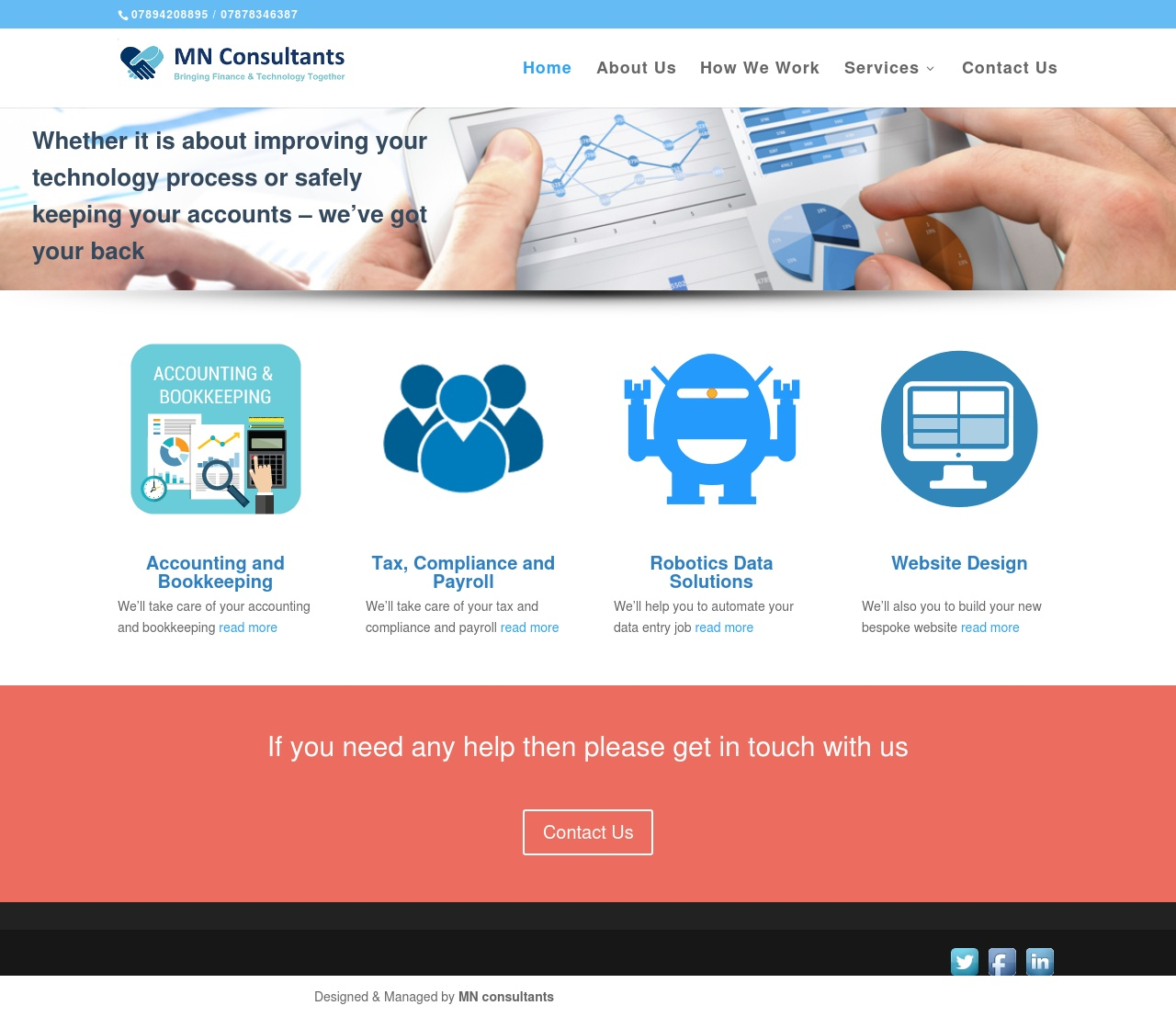 We Have Been Designing Many Websites For Financial And IT Consultants  Businesses With 100% Satisfaction From Our Client. Get The Look At A Price  You Will ...